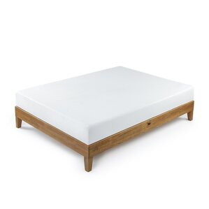 Wood Platform Bed by Alwyn Home