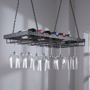 8 Bottle Hanging Wine Rack