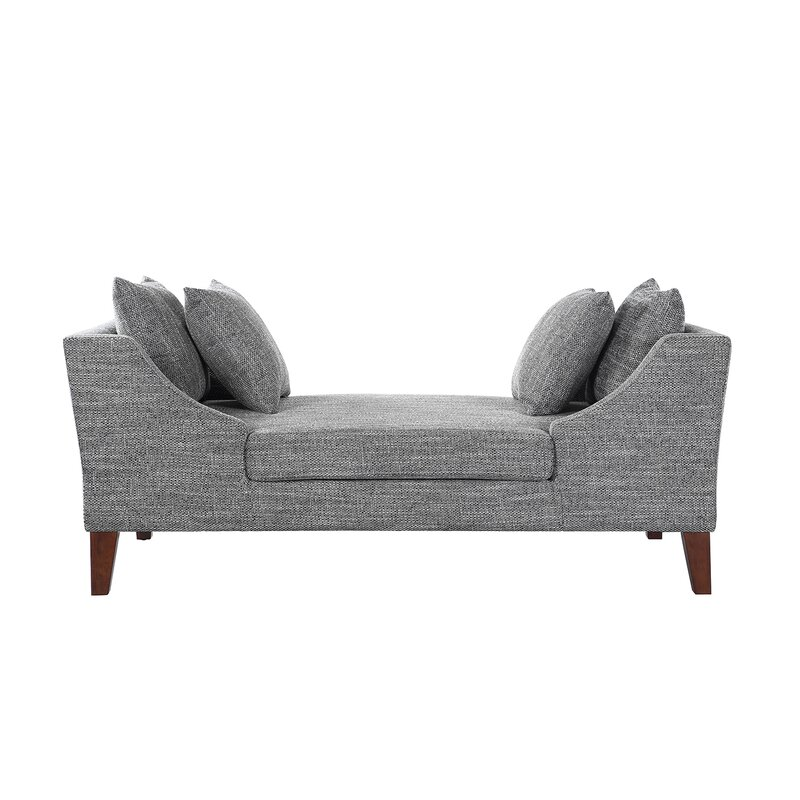 leather double chaise lounge sctl chaise lounge amp reviews wayfair 16619 | Chaise Lounge