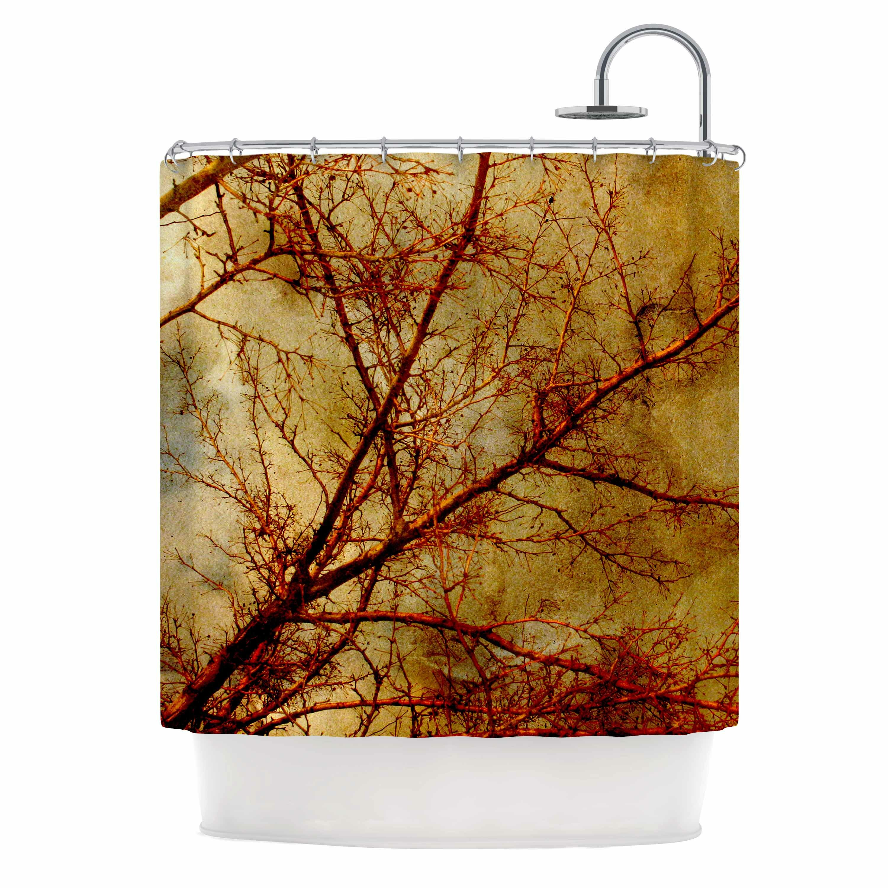 East Urban Home Gothic Tree Shower Curtain