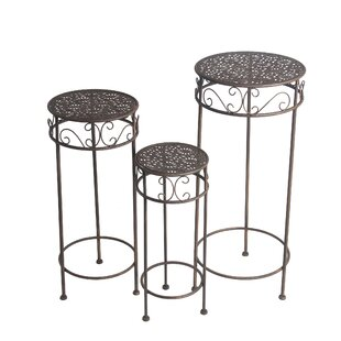 Metal Plant Stands Tables You Ll Love Wayfair