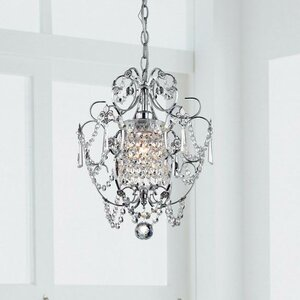 Askham 1-Light Crystal Pendant