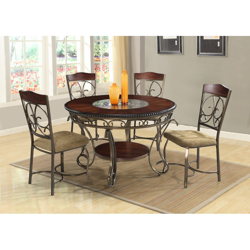Astoria Grand Mayflower 5 Piece Dining Set Reviews Wayfair