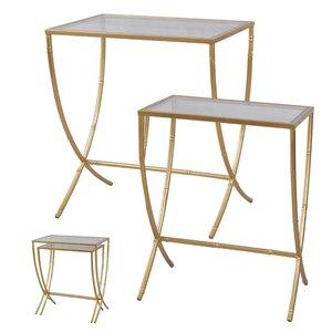 Borja 2 Piece Nesting Tables