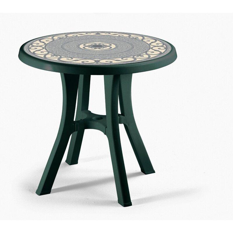 Prestington Pol Round Mosaic Bistro Table