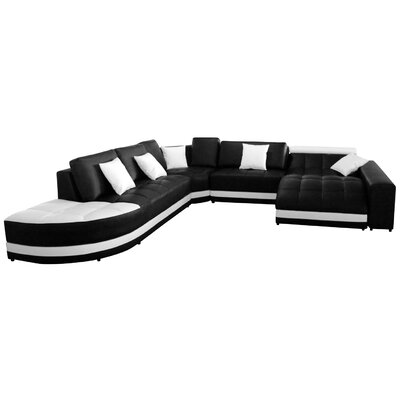 wohnlandschaften polsterfarbe wei. Black Bedroom Furniture Sets. Home Design Ideas