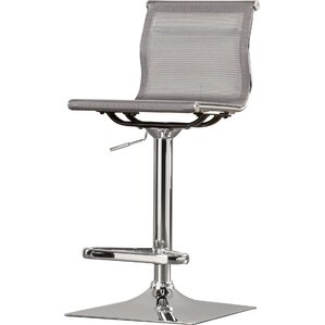 Perfect Bartow Adjustable Height Swivel Bar Stool
