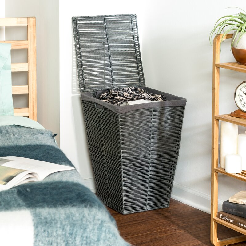Laundry Hamper With Lid Reviews Joss Main