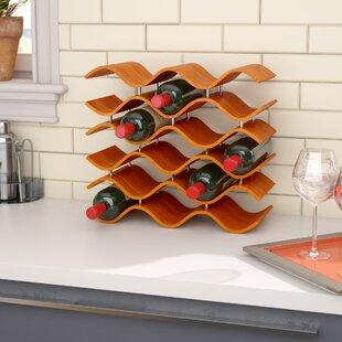 Helfrich 15 Bottle Tabletop Wine Rack