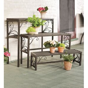 Rectangle 3 Piece Plant Stand Set