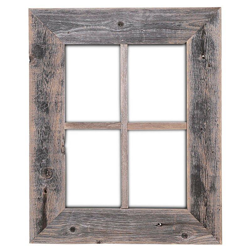 old rustic barn window frame - Window Frame
