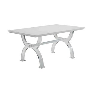 Ulmer Modern Rectangular Solid Wood Dining Table