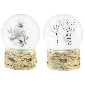 Birch Water Globe Set (Set of 2)
