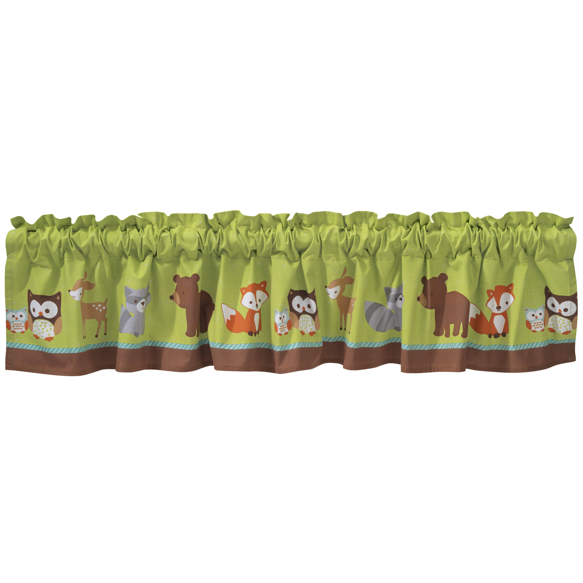 Friendly Forest 54 Curtain Valance