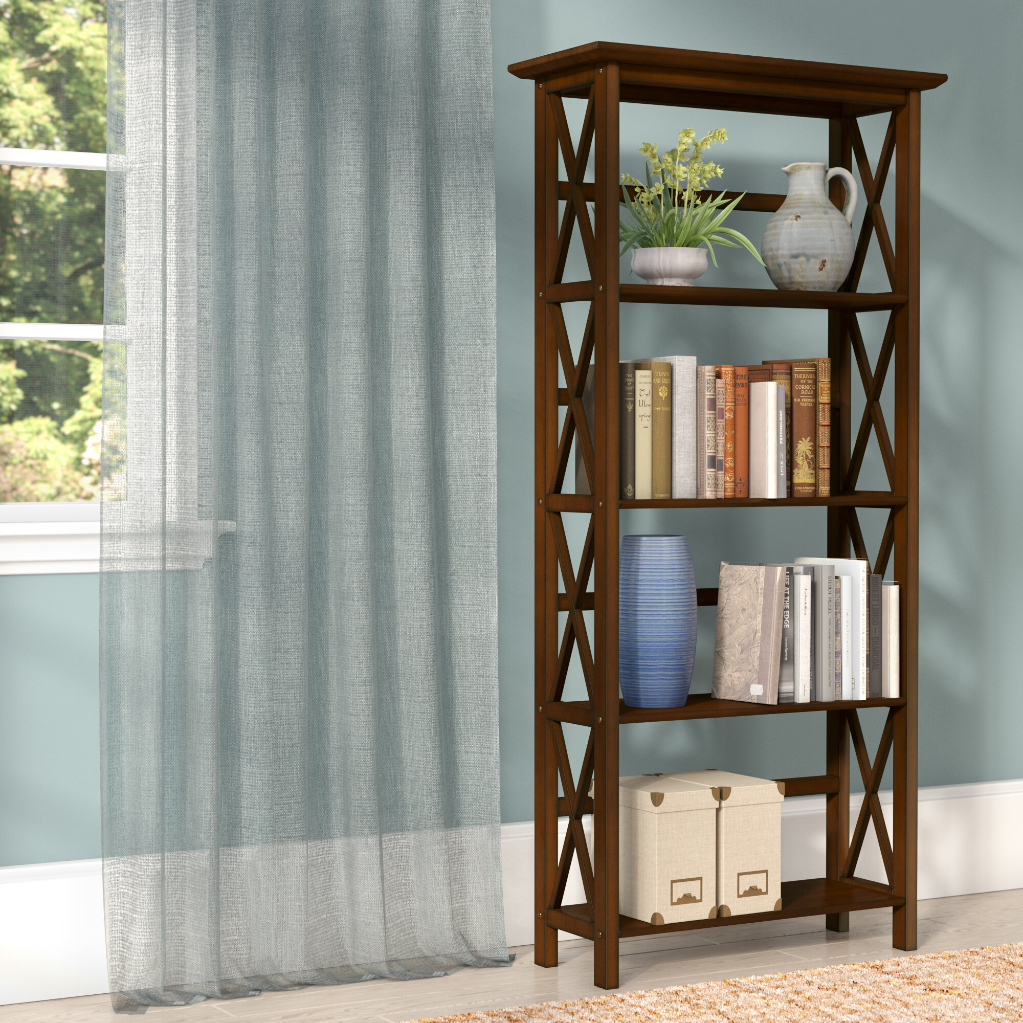 Three posts hitz etagere bookcase reviews wayfair solutioingenieria Image collections
