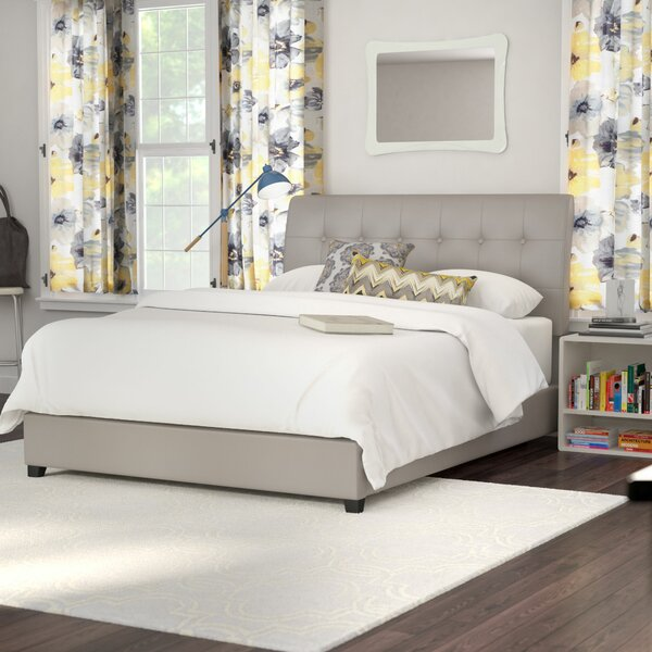 Zipcode Design Griffith Upholstered Panel Bed Reviews