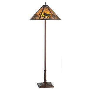 Moose Floor Lamp Moose lamps wayfair moose creek 60 floor lamp audiocablefo