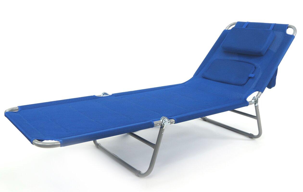 Ergolounger Lady Lounger Reclining Beach Chair With