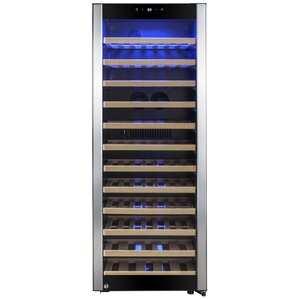 80 Bottle Single Zone Freestanding Wine Cooler by AKDY