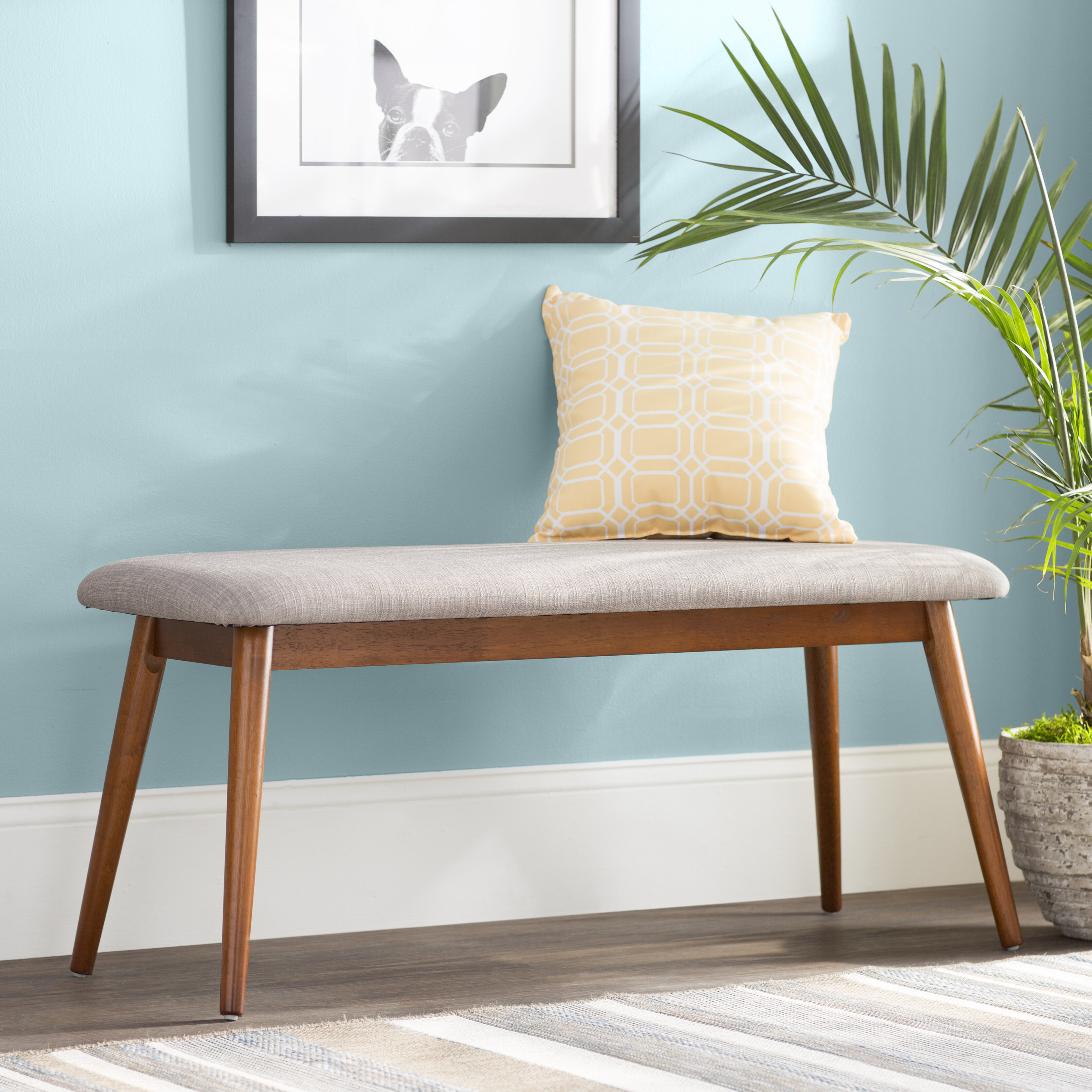 Langley Street Coral Springs Bench & Reviews | Wayfair