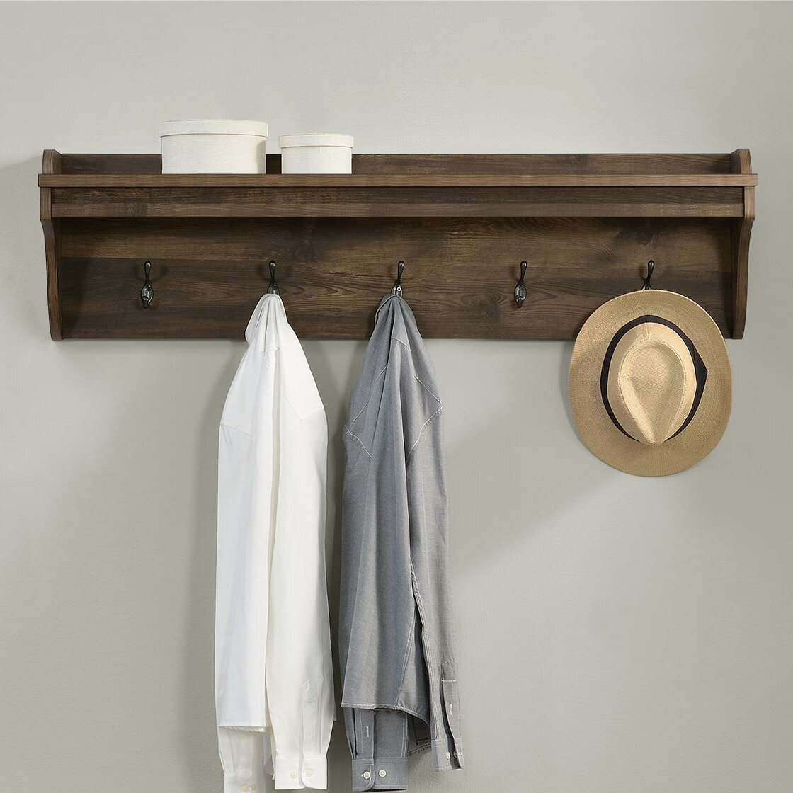 72e7d978180d0 Greyleigh Buckhead Wall Mounted Coat Rack   Reviews