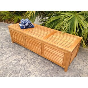 Teak Deck Box Wayfair
