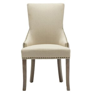 Madonna Nail Head Upholstered Dining Chai..