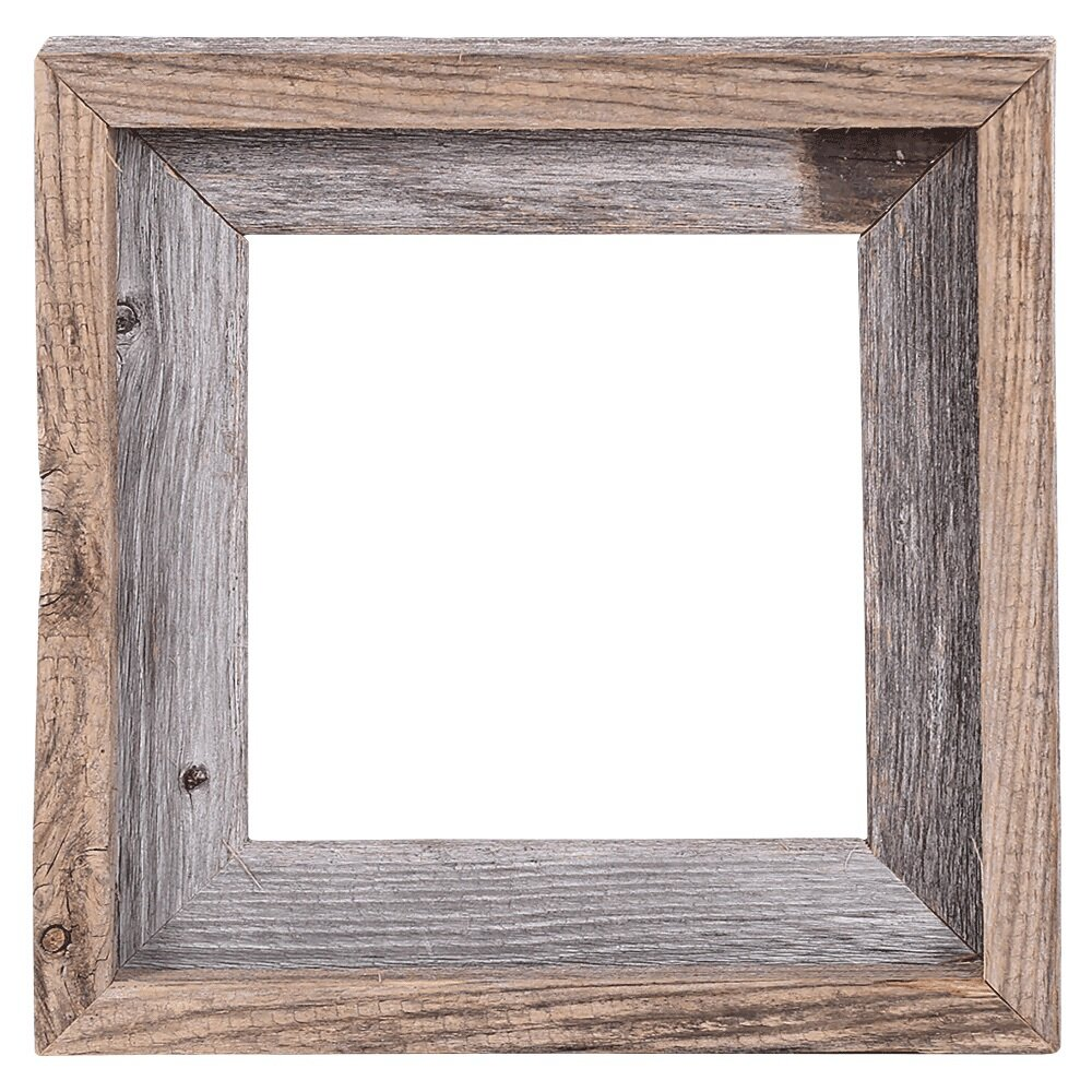 17 Stories Fonzie Barn Wood Reclaimed Wood Open Picture Frame ...