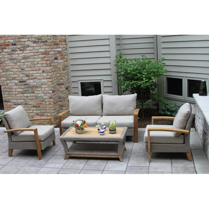 Dillards Furniture Sale: Laurel Foundry Modern Farmhouse Dillard 4 Piece Rattan