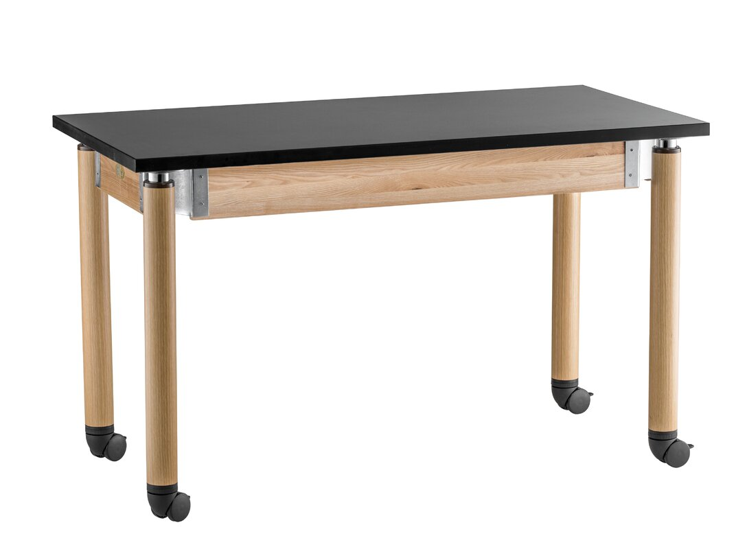 Good Adjustable Height Science Lab Table With Casters