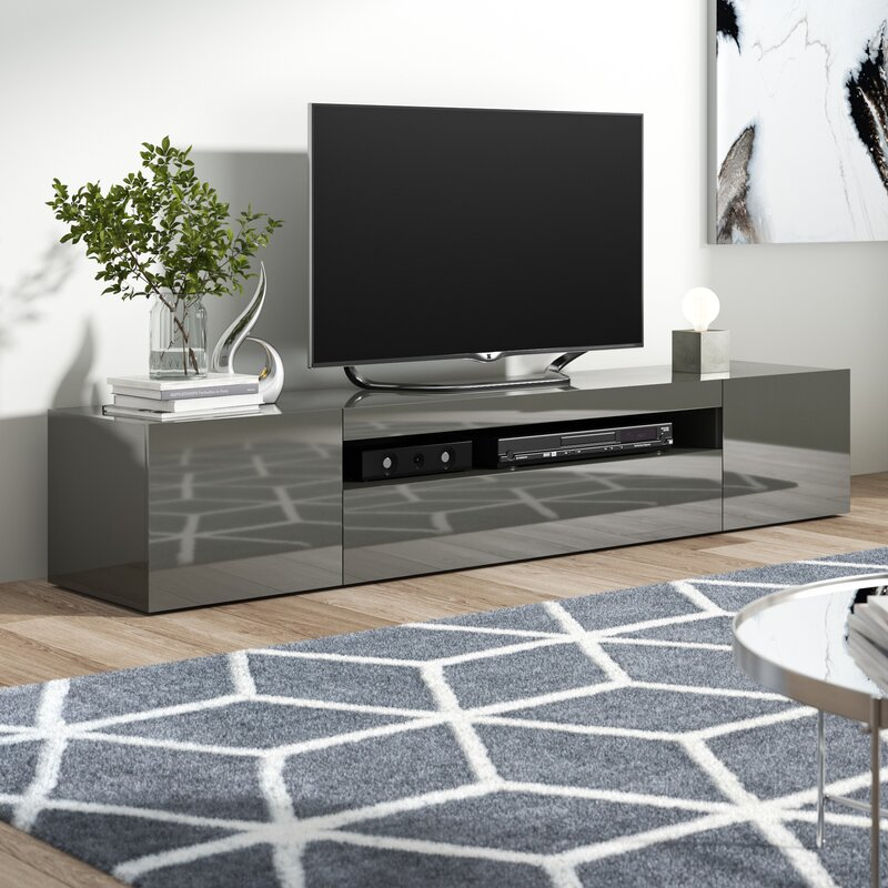 Tv Tables Hernan Tv Unit: Castleton Home Daiquiri Grande TV Stand For TVs Up To 78