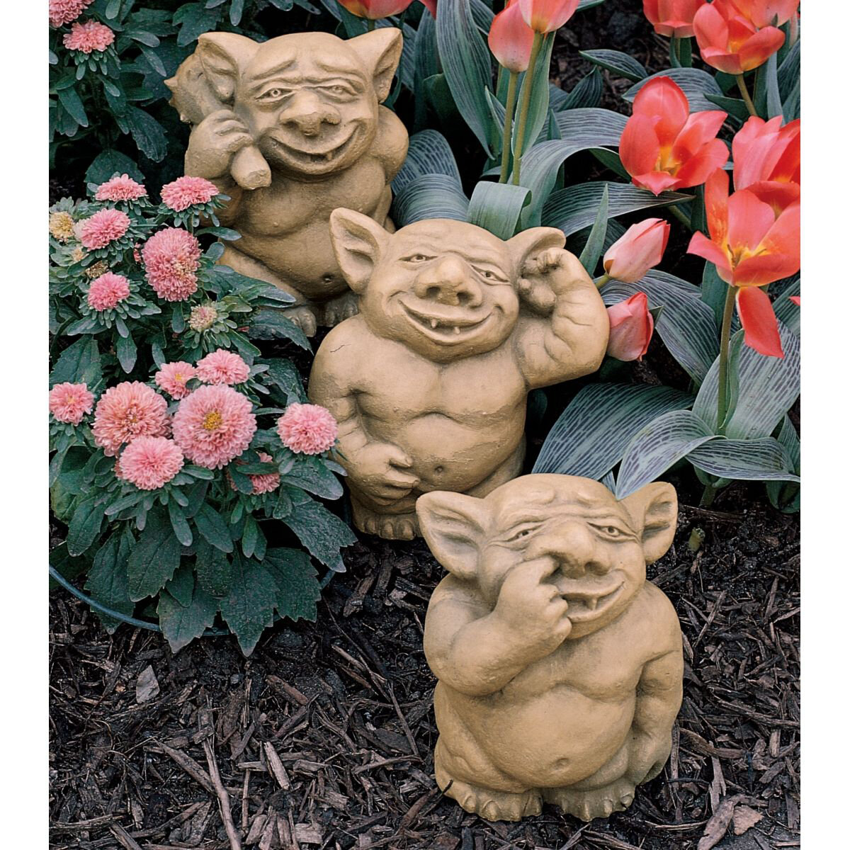 Design Toscano PiccaDilly 3 Piece Gargoyle Statue Set U0026 Reviews | Wayfair