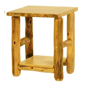 Rustic Arts? End Table by Mountain Woods Furniture