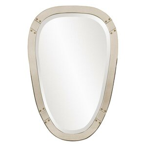 tapered oval wall mirror
