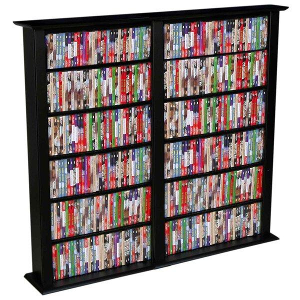 Rebrilliant Regular Double Multimedia Storage Rack U0026 Reviews | Wayfair.ca