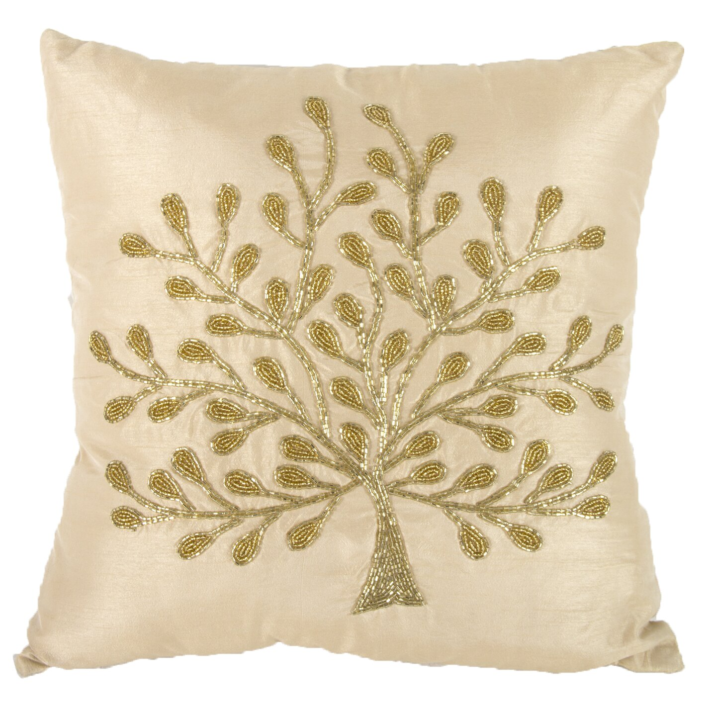 Tree Of Life Fireplace Surround: A&B Home Tree Of Life Pillow & Reviews