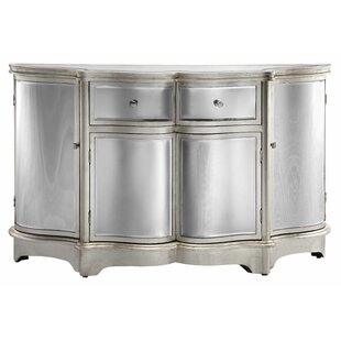 Brinda Curved Mirror Sideboard