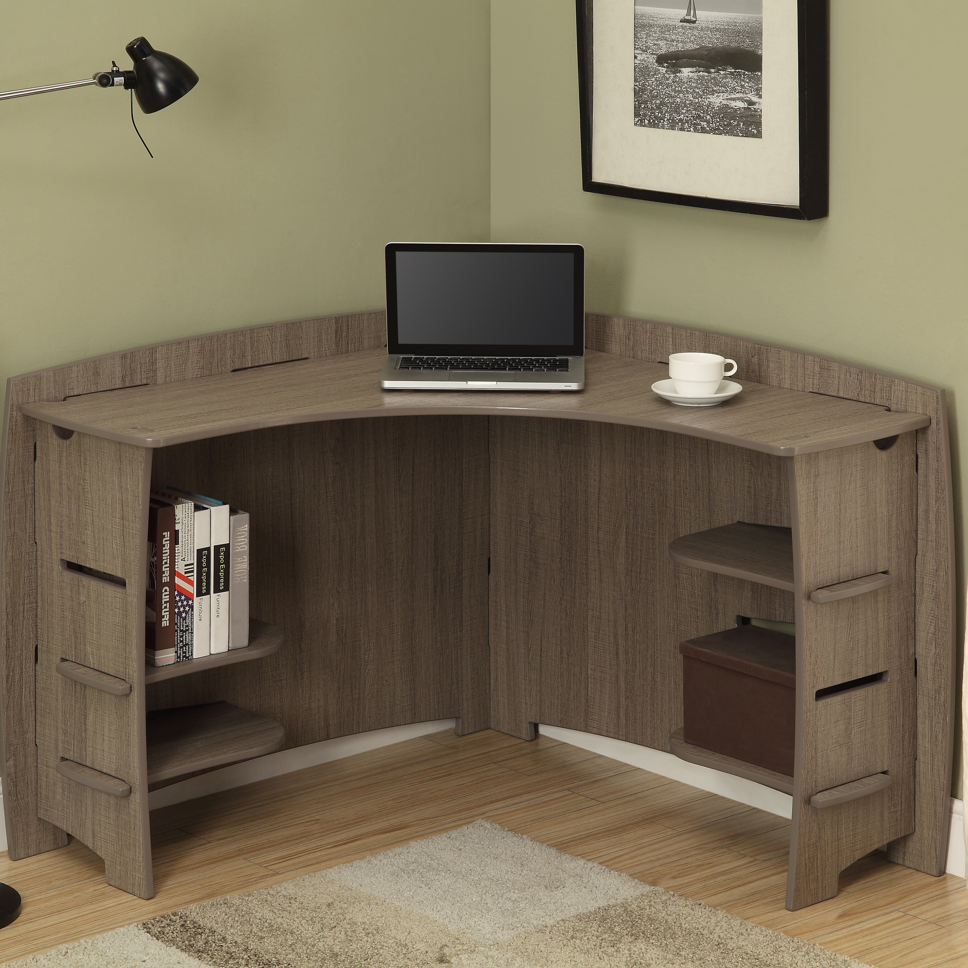 Legare Furniture Driftwood Corner Desk U0026 Reviews | Wayfair