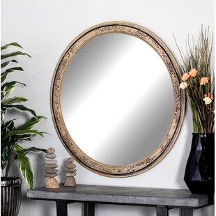 Wood Framed Oval Mirror Wayfair