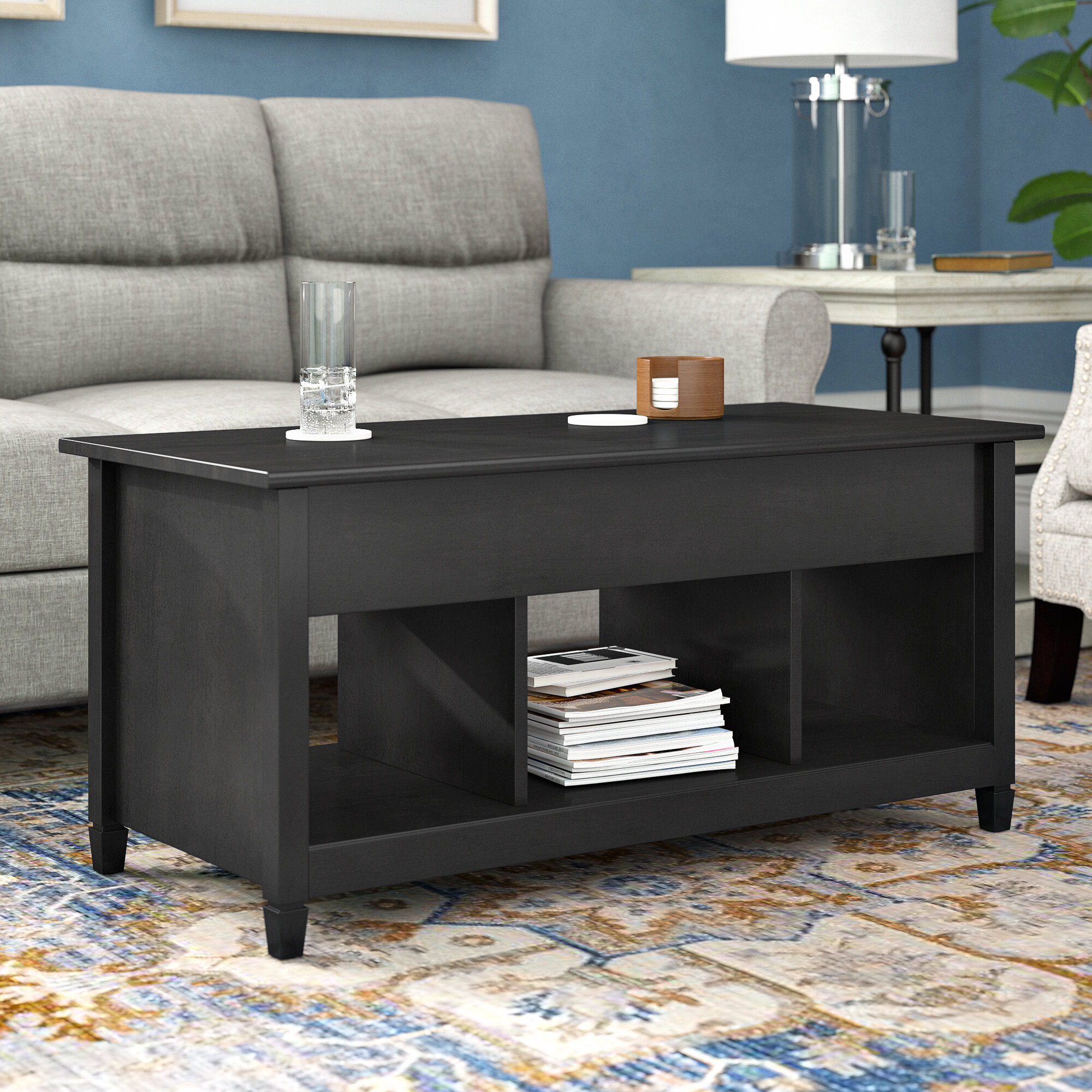 Three posts lamantia lift top coffee table reviews wayfair