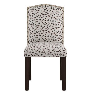 Grays Ferry Nail Button Arched Neo Leo Side Chair by Varick Gallery