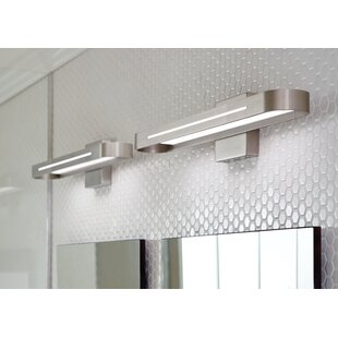 Led bathroom vanity lighting youll love wayfair save aloadofball Choice Image