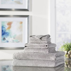 Wayfair Basics 6 Piece Quick Dry Towel Set