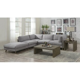 Rowling 5 Piece Reversible Modular Sectional