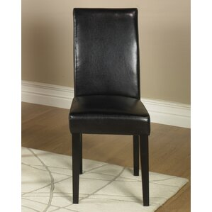 Genuine Leather Upholstered Dining Chair (Set of 2) by Armen Living