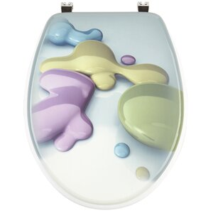 WC-Sitz Blobs Rund von Sanwood