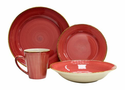 Thomson Pottery Sedona 16 Piece Dinnerware Set, Service for 4 ...