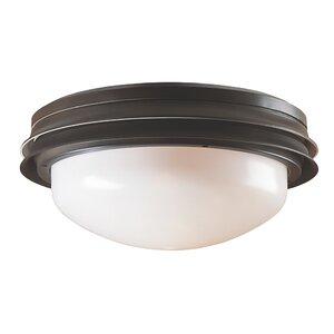 Marine II 2-Light Bowl Ceiling Fan Light Kit