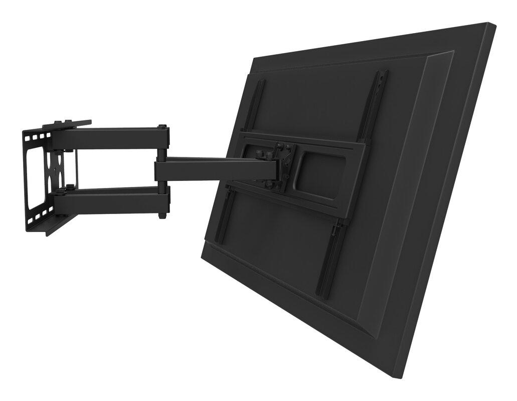 gforce full motion tv wall mount for 32 55 flat panel screens reviews. Black Bedroom Furniture Sets. Home Design Ideas