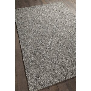 Arend Textured Contemporary Charcoal Area Rug